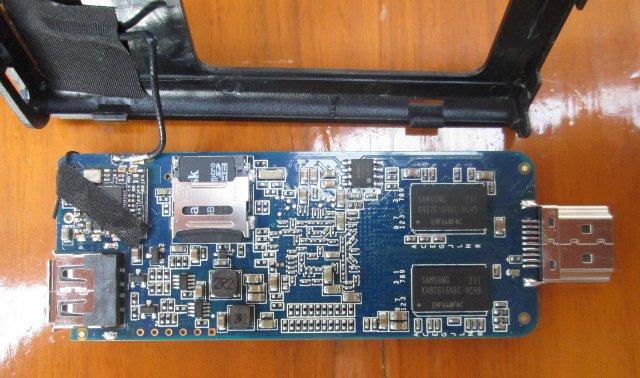Top of HiAPad Hi-802 PCB (Click to Enlarge)