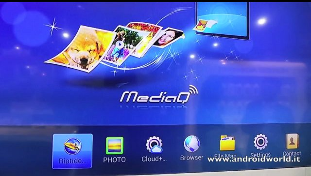Huawei MediaQ M310 User Interface
