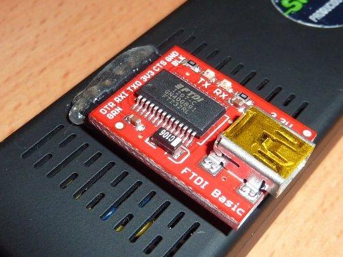 MK808 UART Debug Board