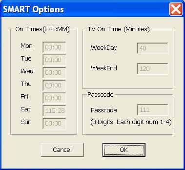 PowerUSB SMART Options