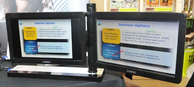 U-see2 Dual-sided Monitors