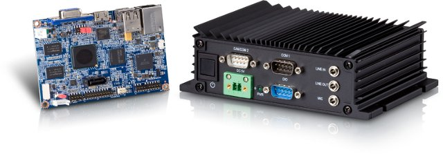 VIA VAB-800 Pico-ITX board and  ARMOS-800 Embedded System