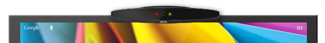 Archos TV Connect on Top of TV