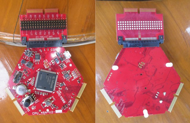 CPU_45A-V2 Board (Click to Enlarge)