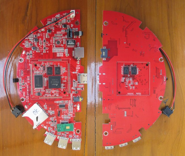 Promotheus Board Top and Bottom (Click to Enlarge)