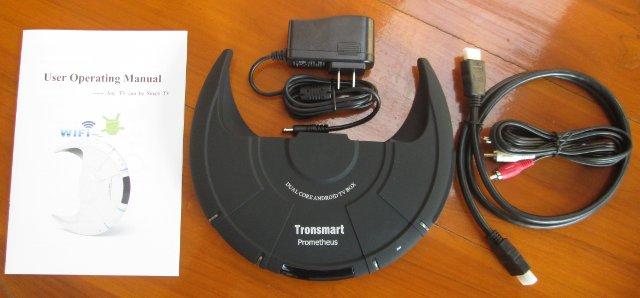 Tronsmart Promotheus Package Content