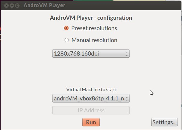 AndroVMPlayer_Configuration