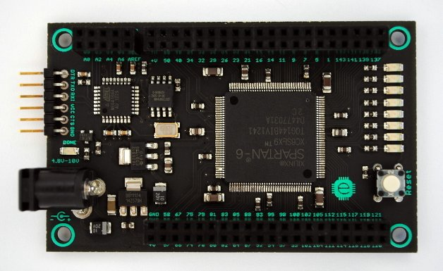 The Mojo 65 Fpga Development Board Powered By Xilinx