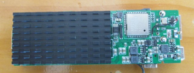 Bottom of MK908 Board (Click to Enlarge)