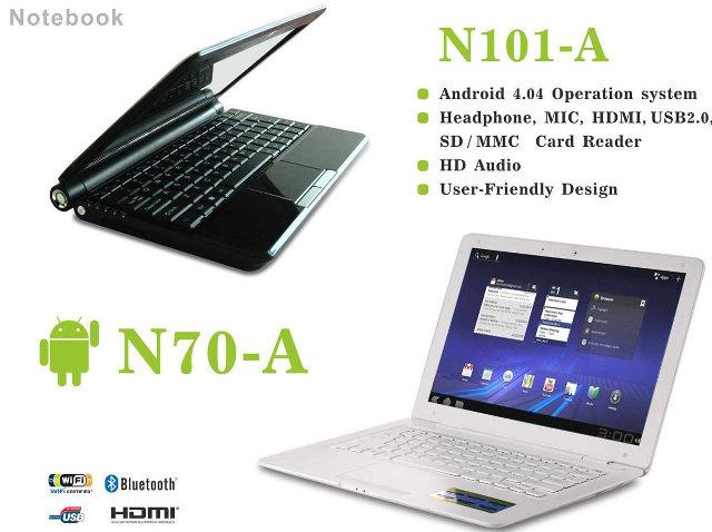 AllWinner A20 & A31 Netbooks