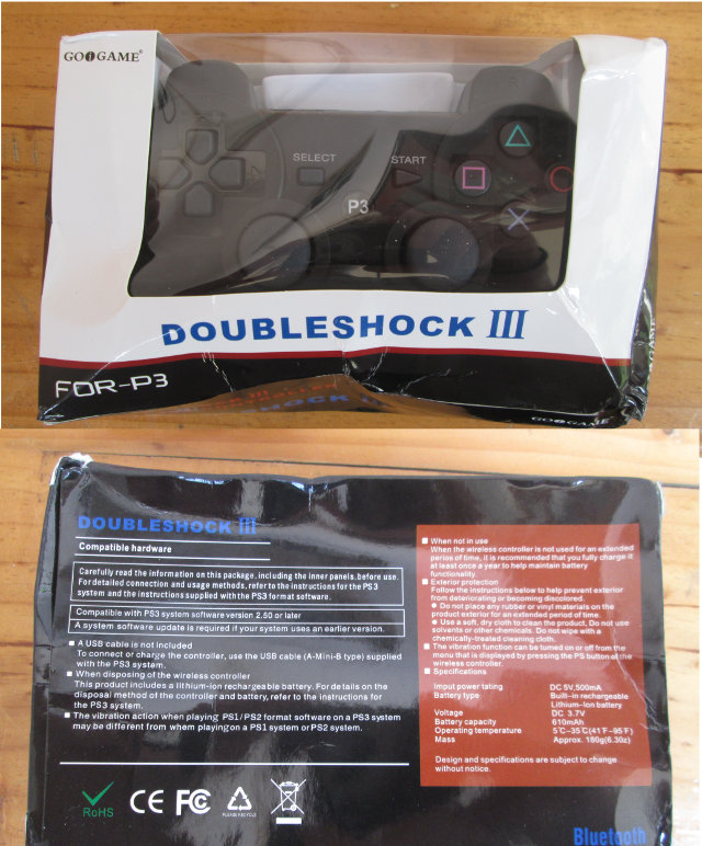 Goigame Doubleshock III Package (Click to Enlarge)