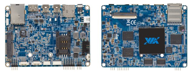 VIA VAB-600 Pico-ITX Board (Click to Enlarge)