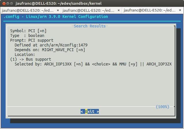 make_menuconfig_PCI_search