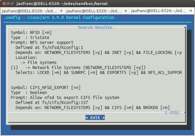 make_menuconfig_nfsd_search