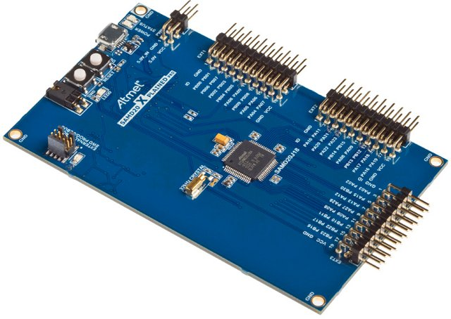 Atmel SAMD20 Xplained PRO Evaluation Kit