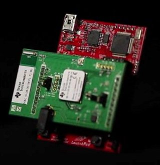 LaunchPad Board with CC3300 BoosterPack