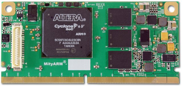 MityARM-5CSX CoM Powered by Altera Cyclone V ARM+FPGA SoC