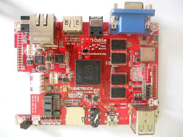 Cubietruck Board (Click to Enlarge)