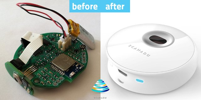 Scanadu Scout Board and Enclosure