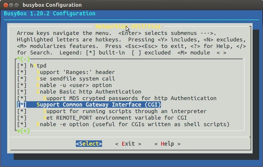Busybox_HTTPD_CGI
