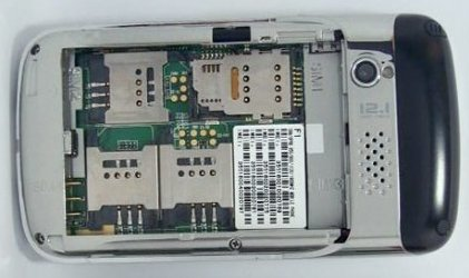 Phone with 4 SIM Card Slots