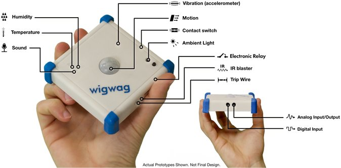 WigWag Sensor Block