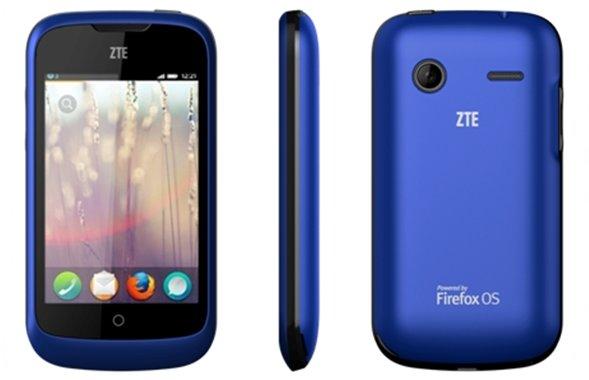 ZTE Open running Firefox OS