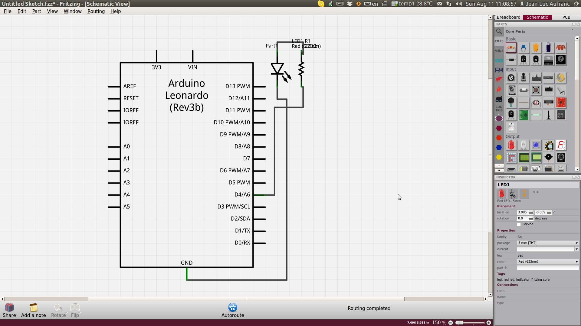 Fritzing Open Source Software Designs PCB Layouts from Breadboard ...