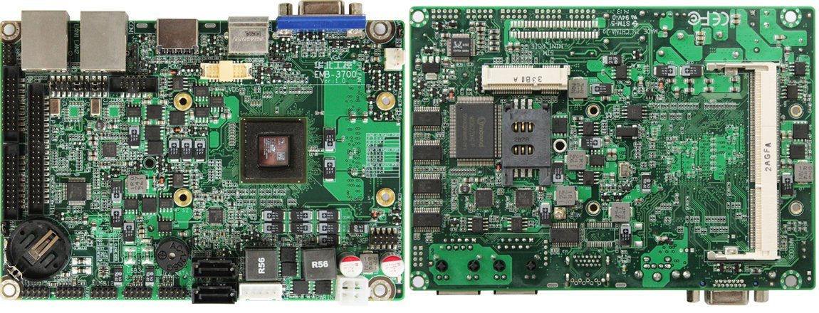 Habey EMB-3700 Embedded Board (Click to Enlarge)