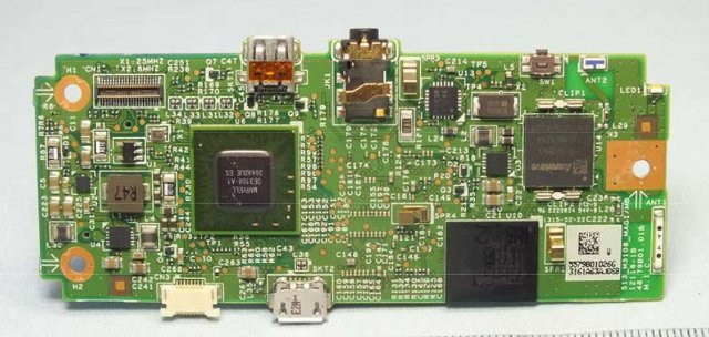Sony NSZ-GU1 PCB (Top) - Click to Enlarge