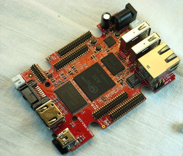 Olimex A10-OlinuXino-LIME Prototype