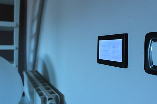 Almadom Us Home Automation System Fits Into Your Walls