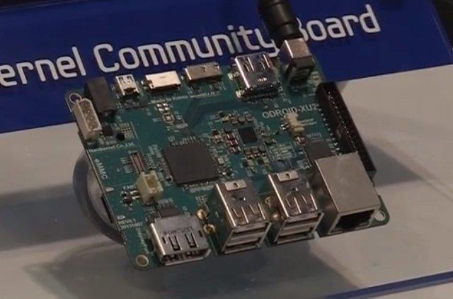 ODROID-XU2 (Source: ARMFlix Video)