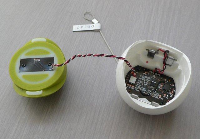 Sensors (Left), Main Chip (Right)