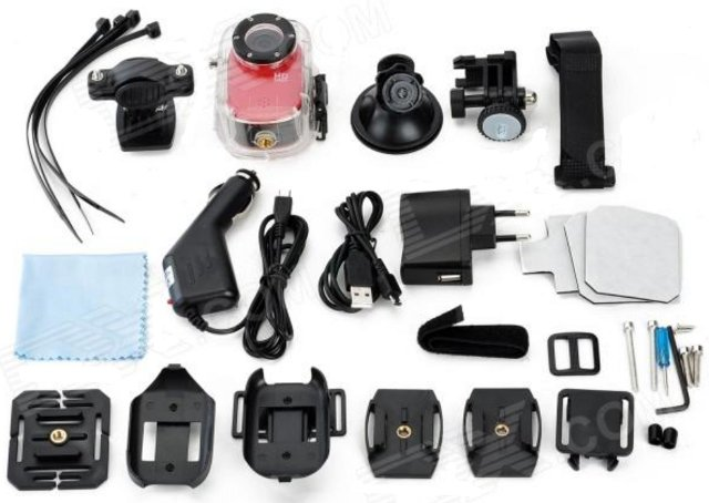 SJ1000 Camera and its Accesories