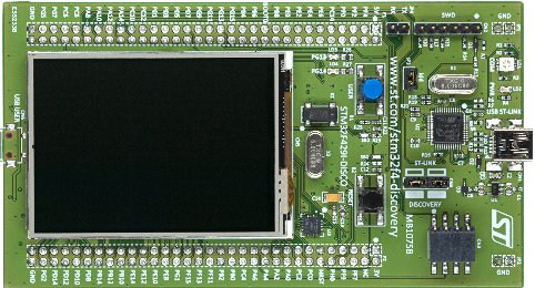 STM32F429 Discovery Board