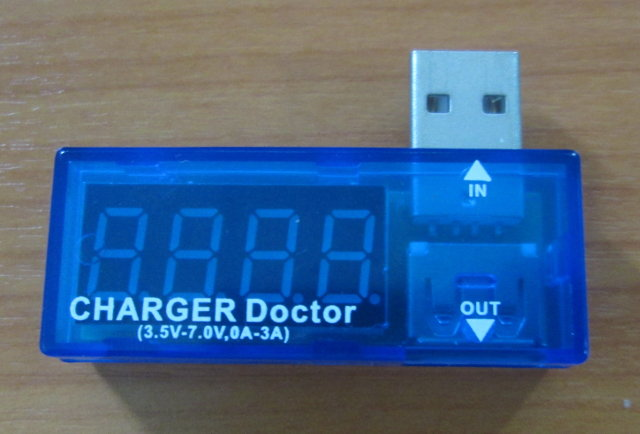 CHARGER_Doctor_USB_Voltage_Current_Tester