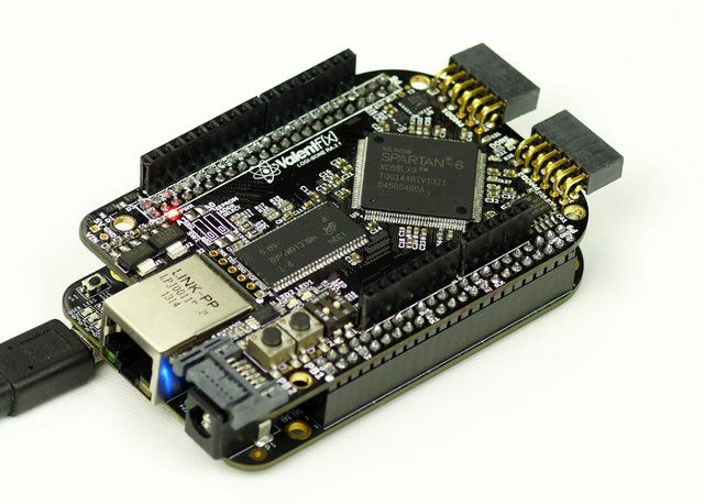 LOGi-Bone Connected to the BeagleBone Black