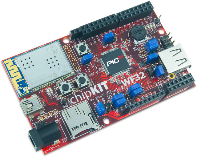 chipKIT W32 Wi-Fi Development Board