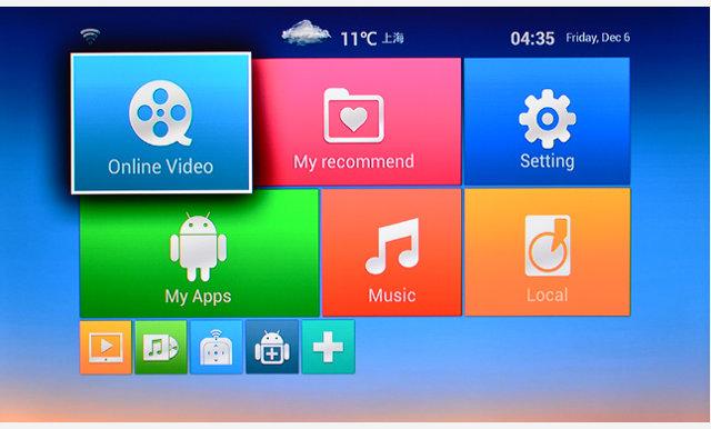 Netgear NTV300D User's Interface