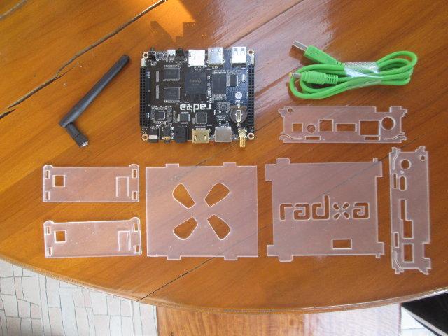 Radxa Rock Package Content