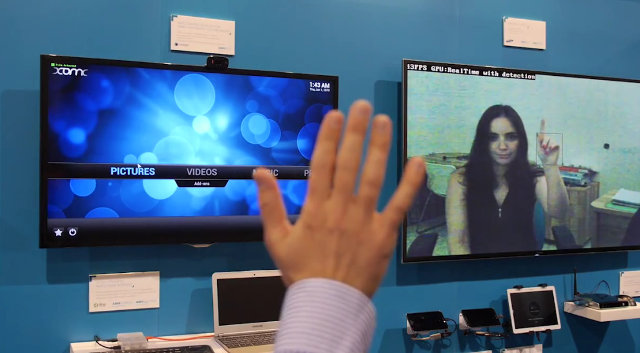 Gesture Recognition in XBMC