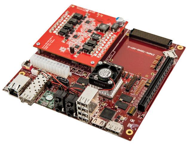 Zynq-7000 Mini-ITX Board (Click to Enlarge)