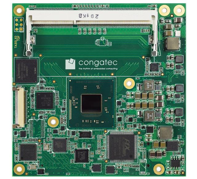 Conga-TCA3 CoM (Click to Enlarge)