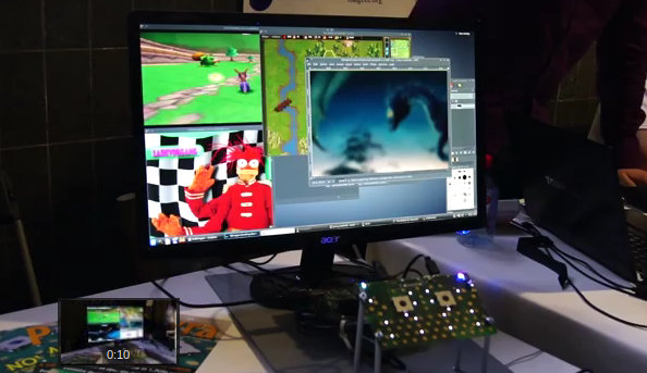 OMAP5432 Game Emulation Demo at FOSDEM 2013