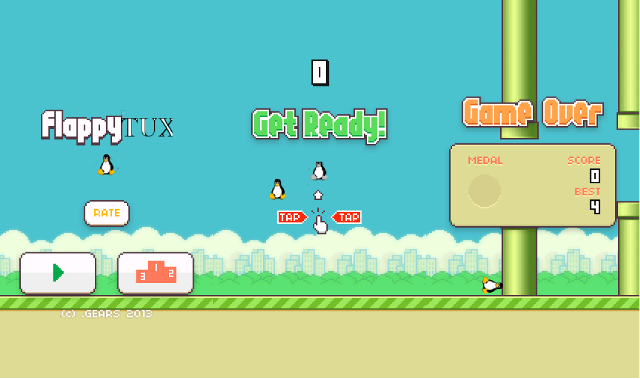 Flappy Bird Sucks, Let's Play Flappy Tux Instead! Or How to