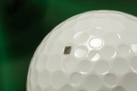 Freescale Kinetis KL03 on a Golf Ball...