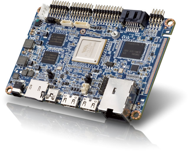 VAB-1000 Pico ITX Board (Click to Enlarge)