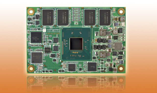 conga-MA3 COM Express Module (Click to Enlarge)