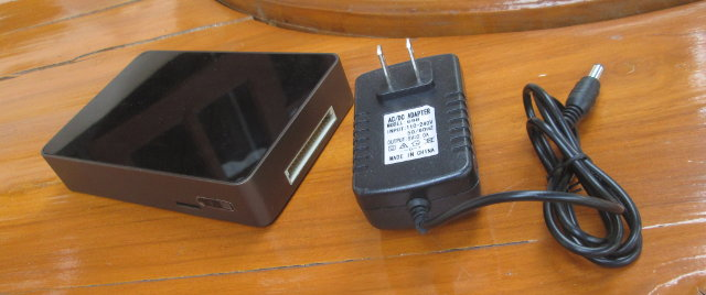 IBOX mini PC and Power Supply (Click to Enlarge)